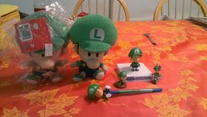My Baby Luigi Collection! by BabyLuigiOnFire