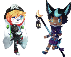 Chibi Commissions by ButterflyBandit