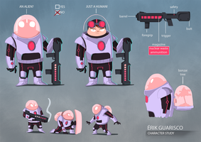 Character Design Study 2 by erikguarisco