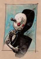 Creepy Little Robot by SpineBender
