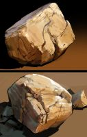 Rock Studies 2 by zombat