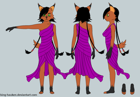 Nicole Lynx Reference Sheet by King-Hauken