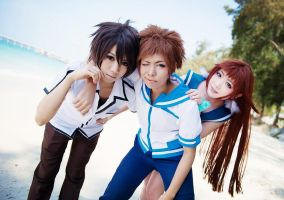 Nagi no Asukara private -5 'WE ARE FRIENDS ?' by basilicum84
