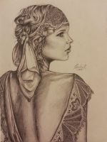 Daisy Buchanan by Watermoon9