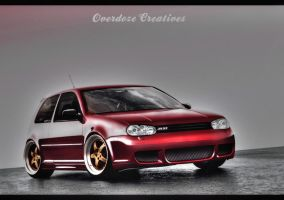 Golf MK4 by OverdozeCreatives