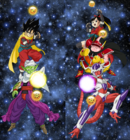 DRAGON BALL HEROES by nimochis