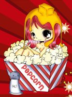 Anime popcorn girl by cutiepiegirl95