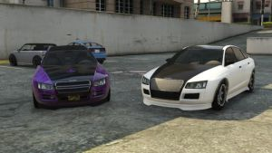 me and my bro in GTA online by daz1200