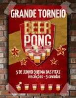 Beer Pong Poster by Pirlipat