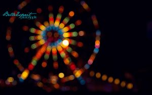Ferris Wheel I by BelleEsprit