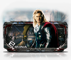 Thor - The Avengers [ Tech ] by BrunaDM