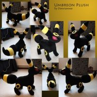 Umbreon Plush by Fenrienne