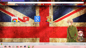Hetalia england chrome theme. by BARELA