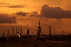 Evening in Tatooine - Refinery by shom