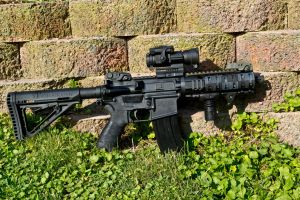 PDW AR-15 by pringle753