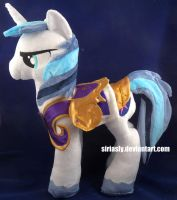 Shining Armor Plush by siriasly