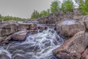 Pabineau Falls (HDR) 2013 by PascalsPhotography