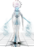 The frozen Ice Queen by SnowEmbrace