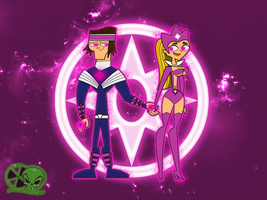 Star Sapphire: Tyler and Lindsay by skull1045fox