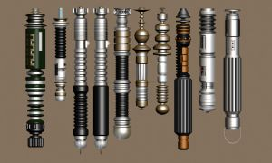 Lightsaber collection wip by sarabando
