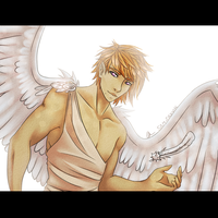 Michael - the guardian angel by curiousSOUL