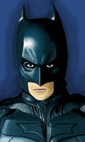 Phone Art: The Dark Knight by ShinkenDon