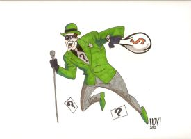 The Riddler by Davidbatmanfan