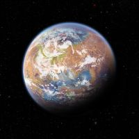 Terraformed Mars by anderpeich