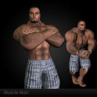 Muscle Man by DarkFantasy69