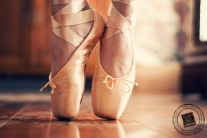 Pointe Shoes by mariesturges