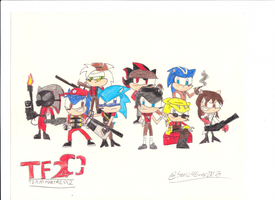Team Fortress 2 (Colored) by sonic4ever760