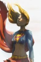 Supergirl color by dzmcm