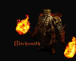 Blacksmith - Heroes of Newerth by Razzik88