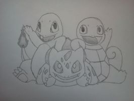 The Starters 1st Gen. by Khirono