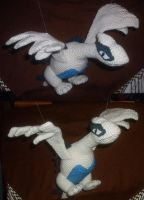 Lugia Plushie - First Run by W0IfDreamer