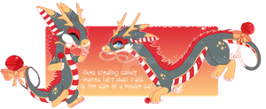 Sweets Dragon Design Auction:: CLOSED by Judaime