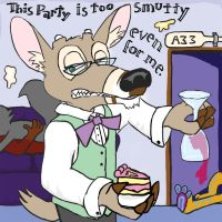 This party is too smutty by Scurrow