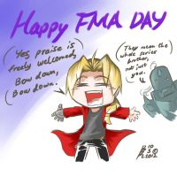 Happy Full Metal Alchemist Day by Gimron