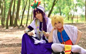 Sinbad and Alibaba by Satomi88