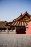 forbidden City roof by PaalM