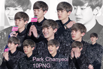 EXO Chanyeol PNG Pack by kamjong-kai