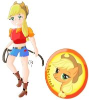 MLP:FIM Applejack by KarToon12