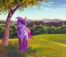 Summertime happiness by Margony