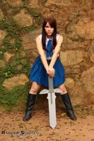 Erza Scarlet Fairy Tail cosplay by AnandaMS