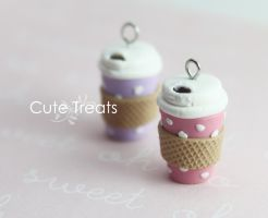 Miniature Coffee Mug To Go by Cutetreatsbyjany