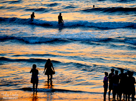 Wading in the Waves by taliaovadia