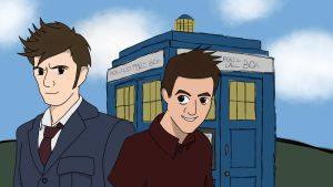 Stephen and the Doctor!-Happy Birthday, Stephen! by OnyxLeaderRogue-177