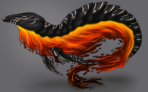 Volcanic Fanale Design (AUCTION, CLOSED) by Noctilida
