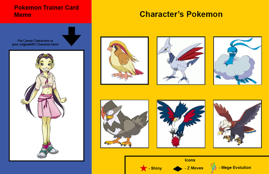 Hay Lin's Pokemon Trainer Card by Hillygon