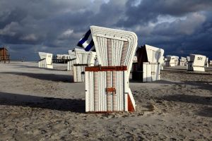 St. Peter-Ording Beach V by puppeteerHH